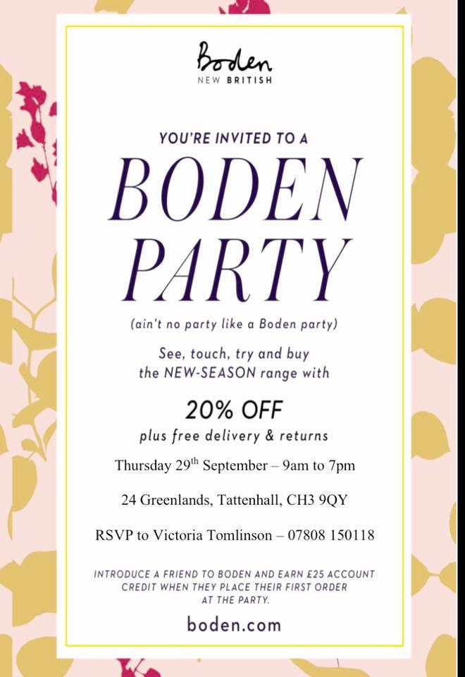 Boden Party