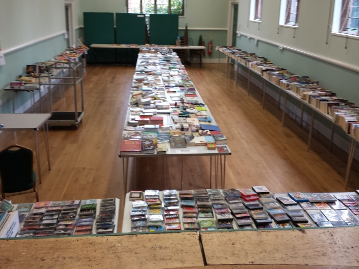 Book Sale at the Barbour