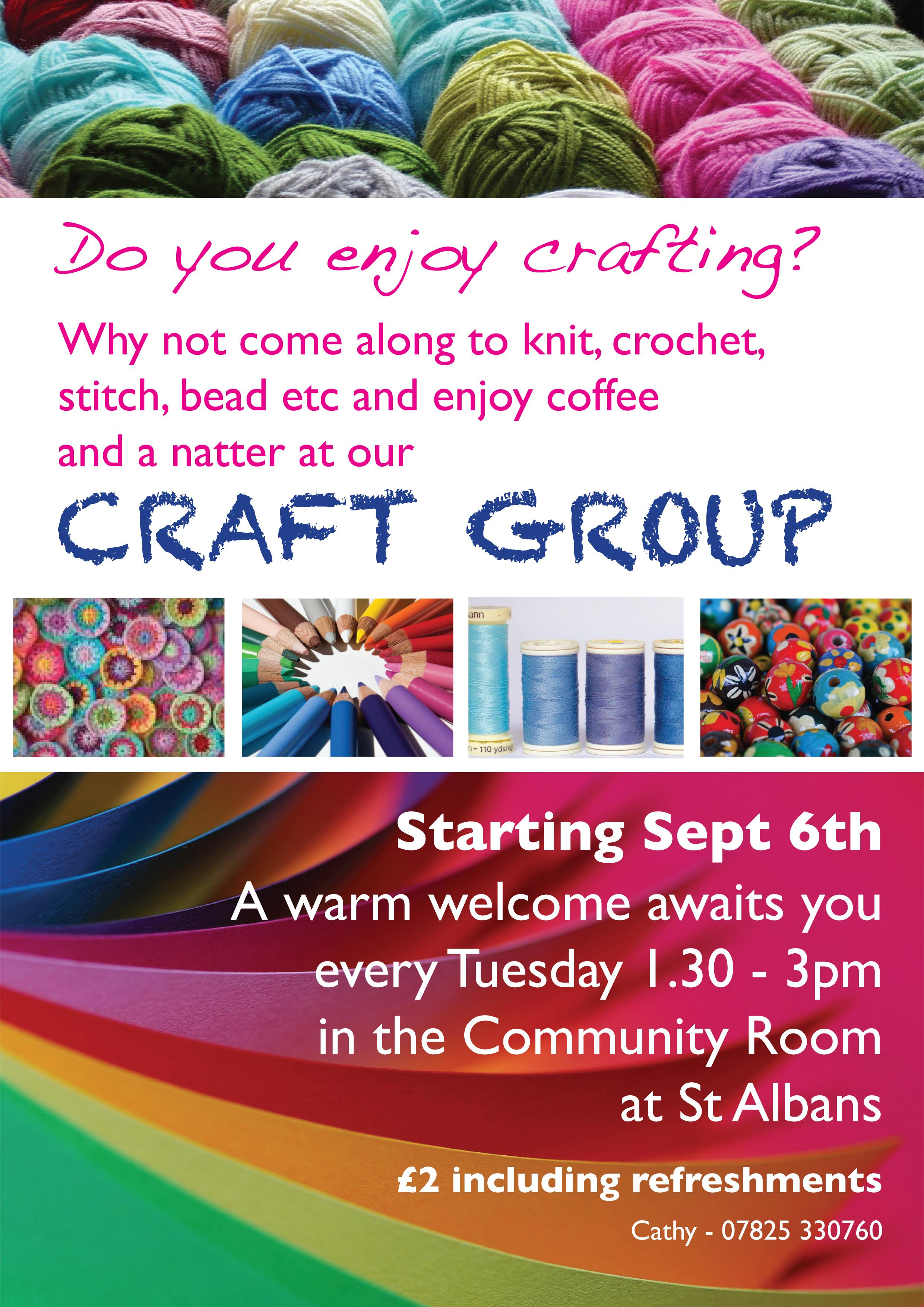 Craft group poster 2