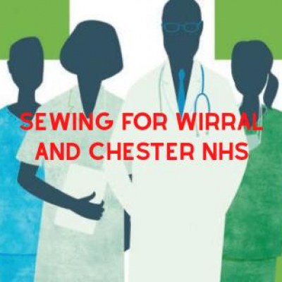 Sewing for Wirral and Chester NHS