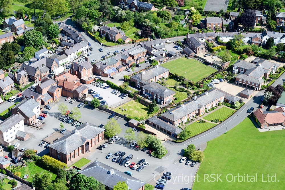 tattenhall from the air 01-54 1000