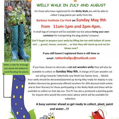 Welly Walk Update 3